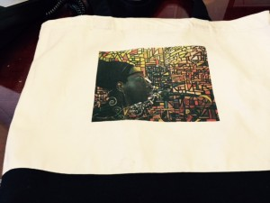 Corey Lightfoot  tote bags, mugs and hand-painted  T- shirts @ Social Hall and Gallery