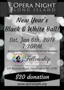Opera Night & UUFH Co-Sponsored Black and White Ball @ UUFH Main Hall